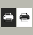 printer - icon vector image