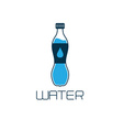 Bottle of water design concept