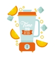 Detox blender icon Smoothie and Juice design vector image vector image