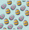 easter day background vector image vector image