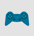 gamepad console controller icon vector image