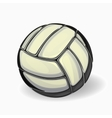 image of a volleyball ball vector image vector image