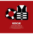 Rescue Item vector image vector image