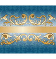Royal imperial classic ornament damask invitation vector image vector image
