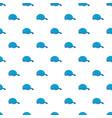 blue baseball cap pattern seamless vector image vector image