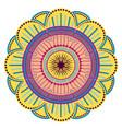 decorative vintage mandala vector image vector image