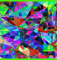 geometric abstract polygonal triangle background vector image vector image