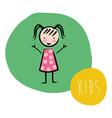 kids design vector image vector image