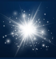 lens flare effect isolated vector image vector image