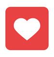 mobile application like web button menu digital vector image