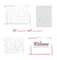 hand-drawn doodle polka dot seamless pattern vector image