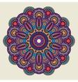 Indian doodle boho hippie mandala vector image vector image