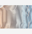 parallel bands of metal with a gradient fill vector image vector image
