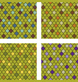 set of colorful moroccan seamless patterns vector image vector image
