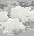 cloud in the sky seamless pattern air nature vector image vector image