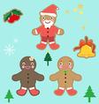 cookie boy vector image vector image
