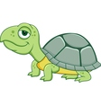 cute funny turtle cartoon vector image