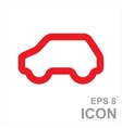 Eco Car Logo Template Design vector image vector image