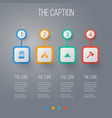 icon camp set of sulphur bivvy cutter and other vector image vector image