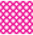 pink and white circles vector image vector image
