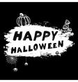 vintage Happy Halloween l vector image vector image