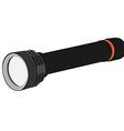 Pocket flashlight vector image