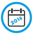2016 Binder Icon vector image