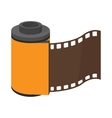Camera roll icon cartoon style vector image vector image