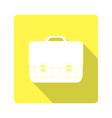 icon classic school bag vector image vector image