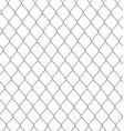 metallic chain fence vector image