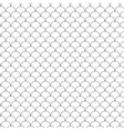 Seamless Circle Black and WhiteSea Shell Geometric vector image vector image