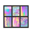 Abstract blur color layout design vector image
