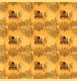 background with indian patterns vector image