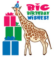 birthday wishes vector image vector image