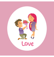 Couple in love 19 vector image vector image