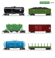 Essential Trains vector image vector image