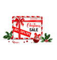 festive design for sale vector image vector image