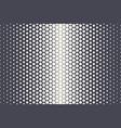 hexagonal halftone texture geometric technology vector image vector image