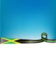 jamaica ribbon flag background