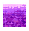 Purple Abstract Low Polygon Background vector image vector image