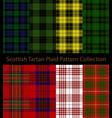 Scottish clans tartan plaid collection