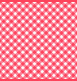 seamless classic background red diagonal stripes vector image vector image