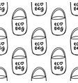 seamless pattern made from hand drawn doodle vector image vector image