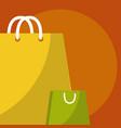 shopping bags design vector image