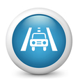 Traffic glossy icon vector image vector image