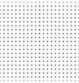 White background with seamless black crosses for vector image vector image
