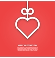 banner valentines day vector image