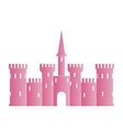 Abstract castle logo template vector image vector image