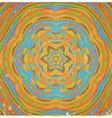 Colorful retro ornament vector image vector image