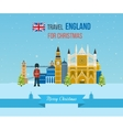 London United Kingdom icons travel concept vector image
